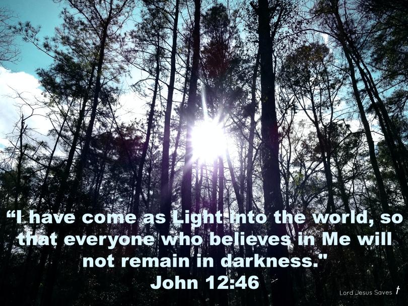 John 12:46 #LordJesusSaves