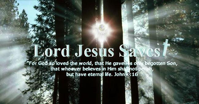 John 3:16 #LordJesusSaves