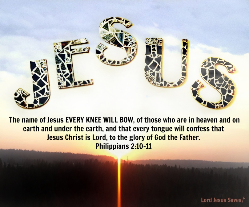 Jesus name which is above every name! #LordJesusSaves