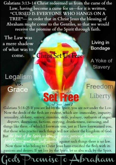 Legalism vs. Grace