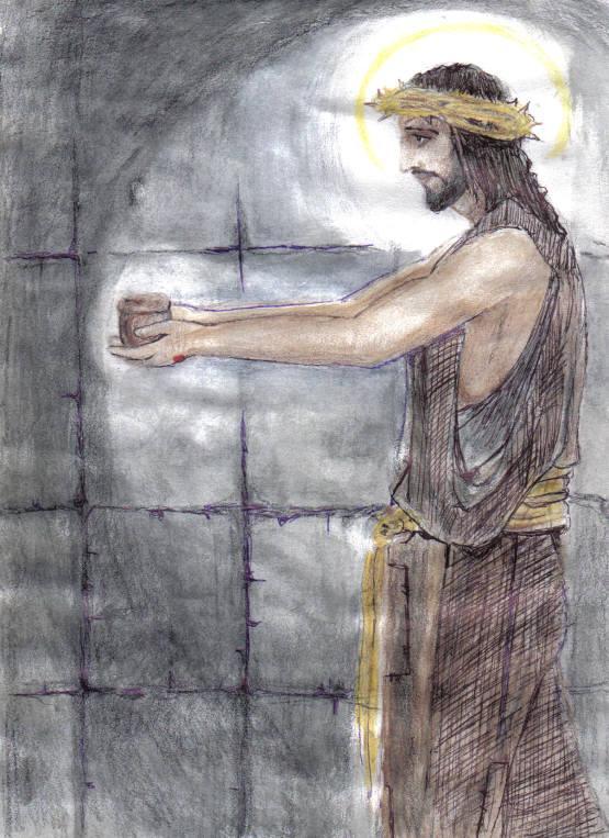 I thirst John 19~28 by Amy McCutcheon