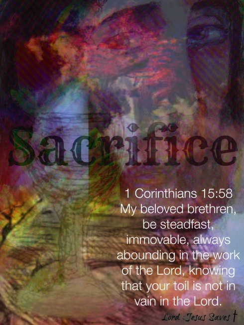 The Cup of Sacrifice