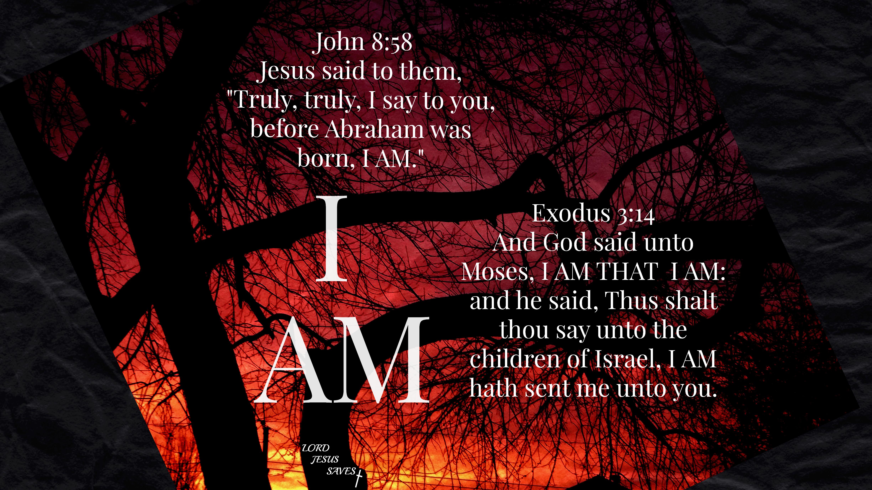 """Jesus Is """"I AM"""""""