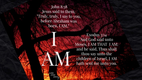 "Jesus Is ""I AM"""