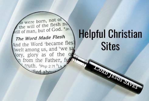 Helpful Christian Sites