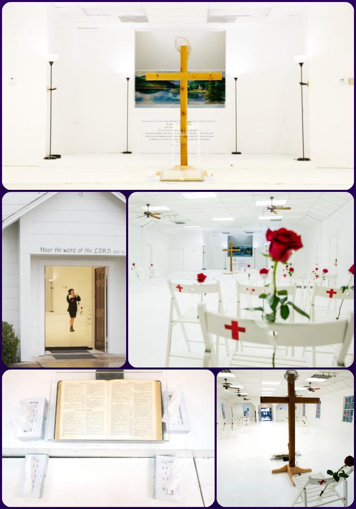 Sutherland Springs First Baptist church memorial