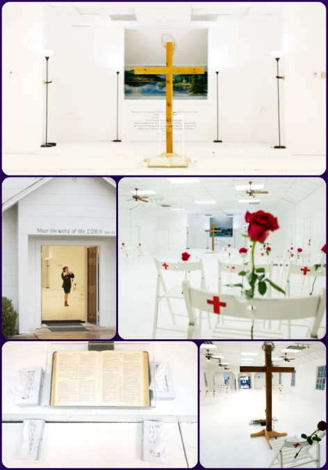 Sutherland Springs First Baptist church memorial