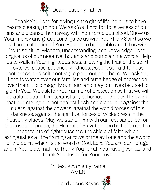 Prayer For All